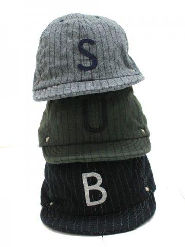 DECHO(デコー) BALL CAP -SRIPE- (10-1AD18)