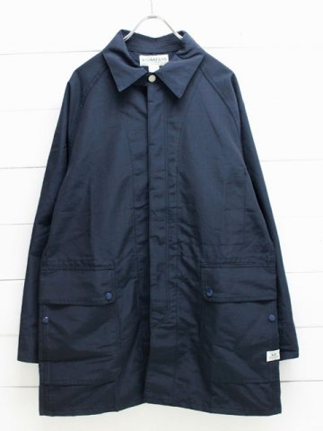 SASSAFRAS(ササフラス) FALL LEAF COAT 60/40 NAVY (SF-181374)