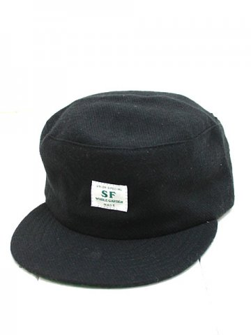 SASSAFRAS (ササフラス) SEEDS BOX CAP BLACK (SF-181413)