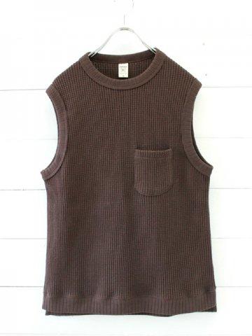 Jackman (ジャックマン) Waffle Vest (JM7906)