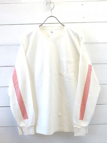 KAPTAIN SUNSHINE (キャプテンサンシャイン)<br>West Coast Long Sleeved Tee WHITE (KS9SCS11)