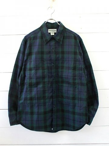 SASSAFRAS(ササフラス)<br>PRUNER LEAF HALF OXFORD CHECK / CHECK2 (SF-191437)