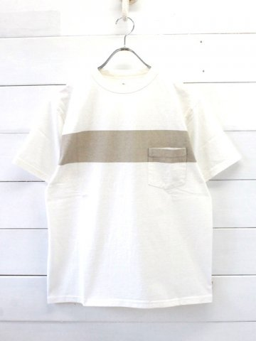 KAPTAIN SUNSHINE (キャプテンサンシャイン)<br>West Coast Tee WHITE (KS9SCS12)