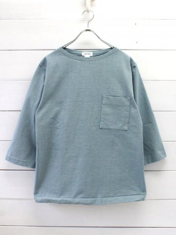 BETTER(ベター) HEAVY WEIGHT BOAT NECK T-SHIRT (BTR1906)