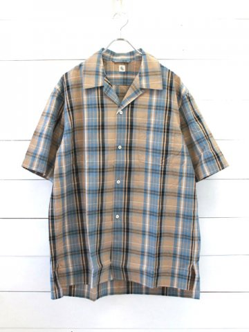 KAPTAIN SUNSHINE (キャプテンサンシャイン)<br>Open Collar S/S Shirts (KS9SSH06)