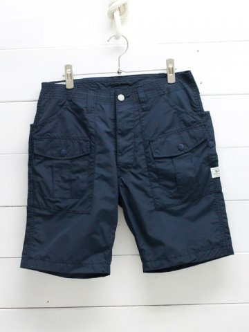SASSAFRAS(ササフラス)<br>BOTANICAL SCOUT PANTS 1/2 NYLON NAVY (SF-191486)
