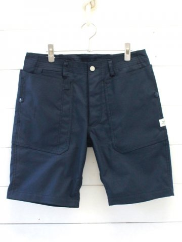 SASSAFRAS(ササフラス)<br>FALL LEAF SPRAYER PANTS 1/2<br>T/C AMERICAN OXFORD NAVY (SF-191484)