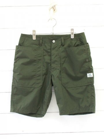 SASSAFRAS(ササフラス)<br>FALL LEAF SPRAYER PANTS 1/2 NYLON OLIVE (SF-191458)