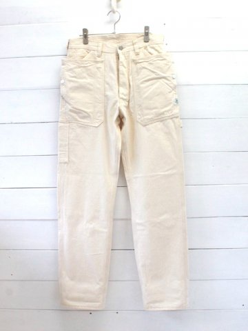 SASSAFRAS(ササフラス)<br>FALL LEAF GARDENER PANTS HERRINGBONE / NATURAL (SF-191493)