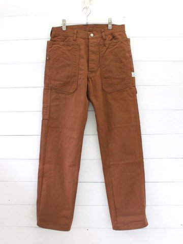 SASSAFRAS(ササフラス)<br>FALL LEAF GARDENER PANTS HERRINGBONE / BROWN (SF-191493)