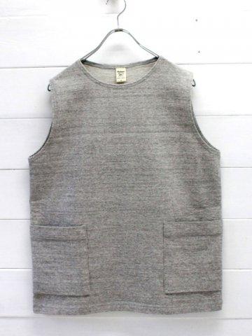 Jackman (ジャックマン) Dotsume Pull Vest (JM5959)