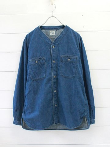 orslow (オアスロウ)<br>NO COLLAR INNER SHIRT DENIM MEN'S (01-8073-95)