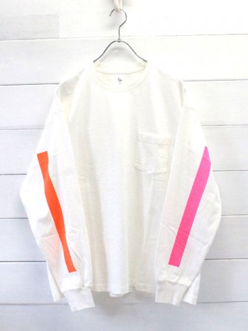 KAPTAIN SUNSHINE (キャプテンサンシャイン)<br>West Coast Long Sleeved Tee WHITE (KS9FCS11)