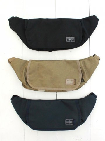 KAPTAIN SUNSHINE (キャプテンサンシャイン) <br>Traveller Funny Bag MADE BY PORTER BALLISTIC NYLON (KS9FGD09)