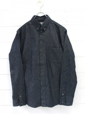 nisica (ニシカ) ボタンダウンシャツ デニム (NIS-876)