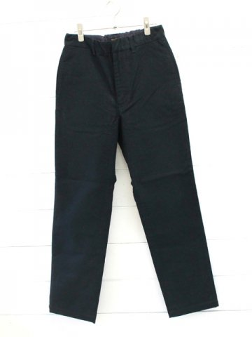 A VONTADE (アボンタージ) <br>Cotton Suede Easy Trousers / INK BLACK (VTD-0395-PT)