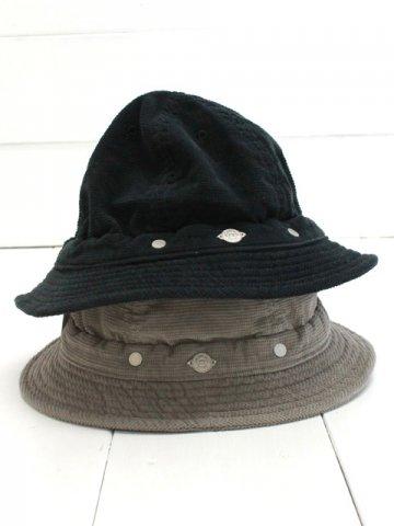 DECHO(デコー) SHALLOW KOME HAT corduroy (9-2AD19)