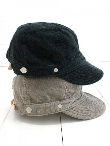 DECHO(デコー) SHALLOW KOME CAP corduroy (9-1AD19)