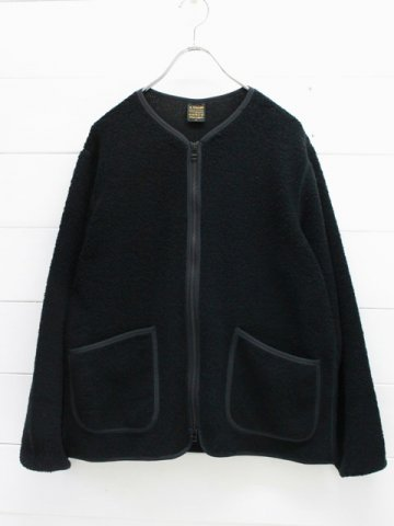 A VONTADE (アボンタージ)  Wool Pile Zip Cardigan (VTD-0497-CS)
