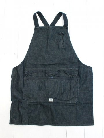 SASSAFRAS(ササフラス)<br>WHOLE HOLE APRON 13.5oz DENIM (SF-191554)