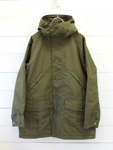 SASSAFRAS (ササフラス)<br>BLOWER BUD COAT MICROTTY OXFORD / OLIVE (SF-191514)