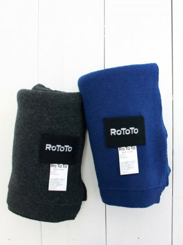 RoToTo(ロトト) COTTON CASHMERE MUFFLER (R5031)