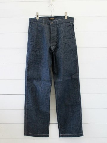 A VONTADE (アボンタージ) <br>Denim Mil. Trousers -10oz Selvedge Denim- (VTD-0401-PT)