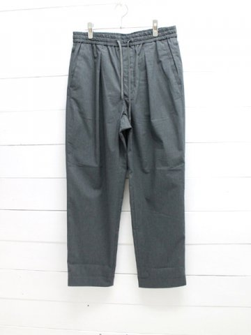 A VONTADE (アボンタージ) <br>1 Tuck Wide Easy Trousers - cool max - (VTD-0423-PT)