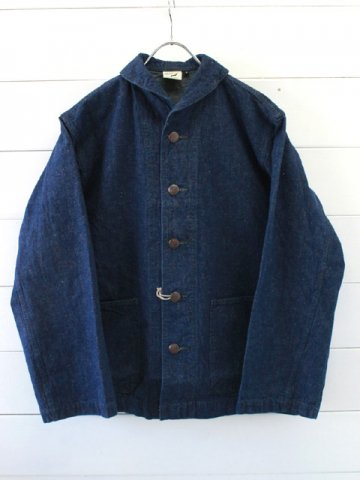 orslow (オアスロウ)<br>US NAVY SHAWL COLLAR JACKET ONE WASH (01-6160-81)