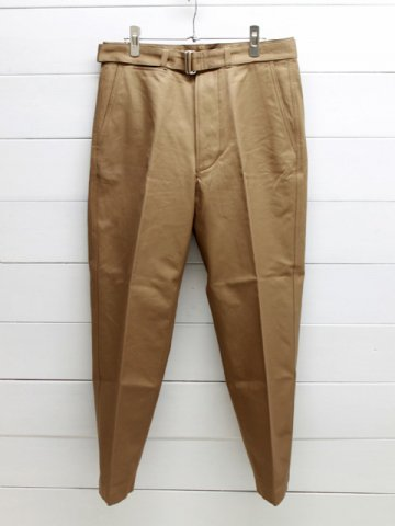 KAPTAIN SUNSHINE (キャプテンサンシャイン) <br>Belted Work Trousers (KS20SPT03)