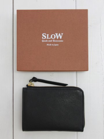 SLOW(スロウ) Lzip short wallet / bono (333S77I)