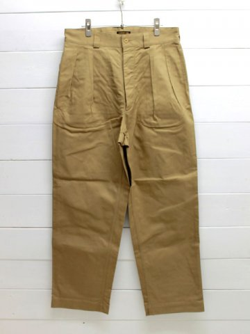 A VONTADE (アボンタージ)<br>French Mill 2 Tac Chino Trousers / KHAKI (VTD-0432-PT)