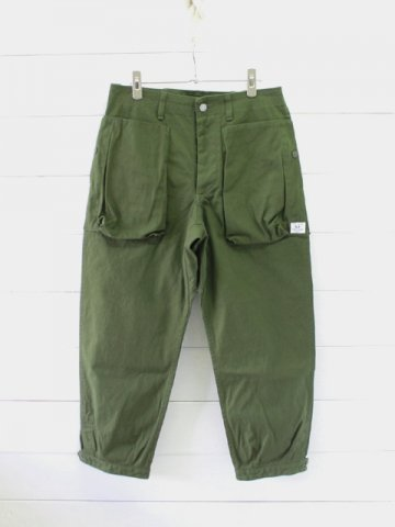 SASSAFRAS(ササフラス)<br>DIGS CREW PANTS 4/5 CANVAS (SF-201631)