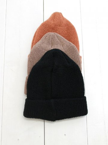 DECHO(デコー) LINEN KNIT CAP (4-3SD20)