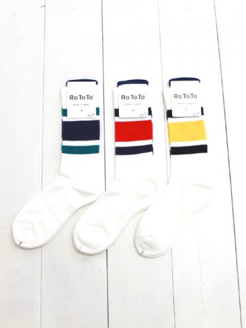 RoToTo(ロトト) <br>NEW SCHOOL SOCKS (R1285)
