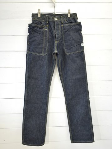 SASSAFRAS(ササフラス)<br>FALL LEAF PANTS 13.5oz DENIM / INDIGO