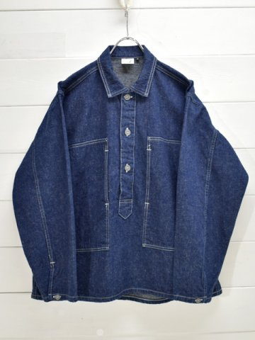 orslow (オアスロウ) <br> PW PULLOVER SHIRT JACKET ONE WASH (03-8041-81)