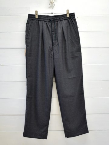 A VONTADE (アボンタージ) <br>Comfort Wide Easy Trousers - Wool Serge - (VTD-0423-PT-W)
