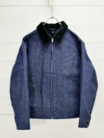 KAPTAIN SUNSHINE (キャプテンサンシャイン) <br>Denim Zipper Blouson (KS20FJK10)
