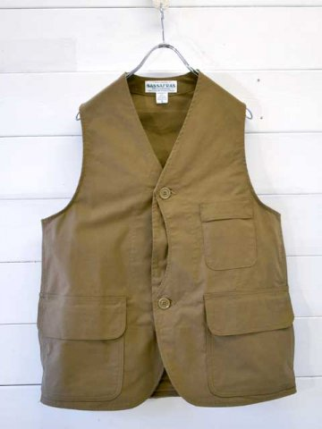 SASSAFRAS(ササフラス)<br>GARDEN TOUGH VEST C/N DUCK KHAKI (SF-201712)
