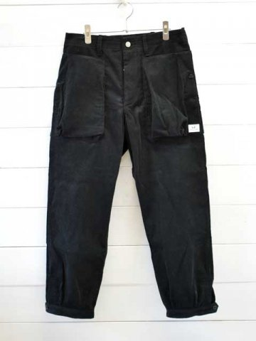 SASSAFRAS(ササフラス)<br>DIGS CREW PANTS 4/5 14W CORDUROY (SF-201732)