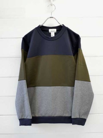 BETTER(ベター) CORDURA FLEECE PANEL PULLOVER (BTR2038)