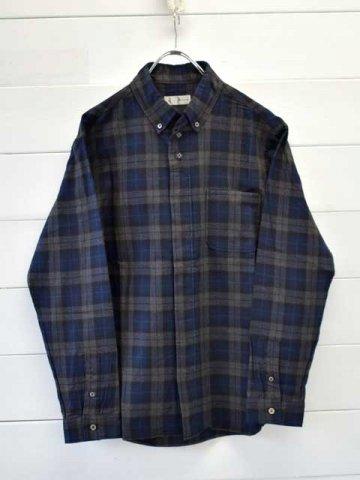 nisica (ニシカ) ボタンダウンシャツ チェック (NIS-925)