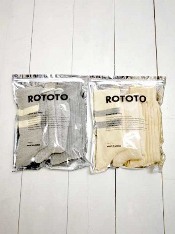 RoToTo(ロトト) ORGANIC COTTON SPECIAL TRIO SOCKS (R1328)