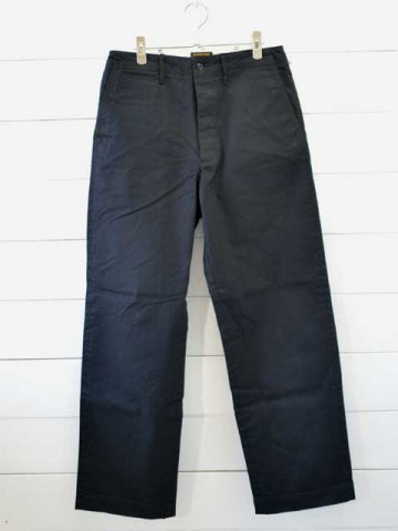 A VONTADE (アボンタージ) <br>Type 45 Chino Trousers - Wide Fit - black (VTD-0340-PT)