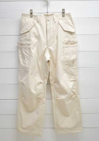 SASSAFRAS(ササフラス)<br>OVERGROWN PANTS CANVAS/NATURAL (SF-211768)