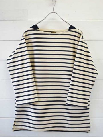 A VONTADE (アボンタージ) Boatneck3/4sleeve -Border- (VTD-0550-CS)