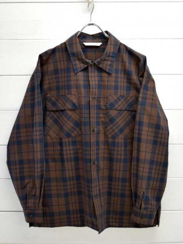 MANUAL ALPHABET (マニュアルアルファベット) <br>WEATHER CHECK UTILITY SHIRTS (MA-S-553)