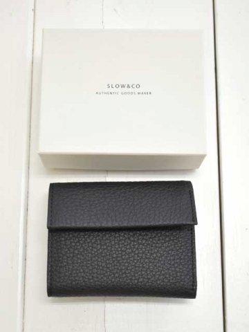 SLOW(スロウ) crispanil -trifold mini wallet- (827S43J)