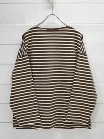 KAPTAIN SUNSHINE (キャプテンサンシャイン)<br>Suvin Boat neck Shirt (KS21FCS08)